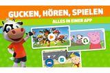 """Mit hunderten von kostenlosen Inhalten bietet die App alles was sich Kinder ab 2 Jahrenwünschen. Die App beinhaltet, intuitiv aufgeteilt in""""Gucken, Hören und Spielen"""", Serien von """"PAW Patrol"""" bis """"Peppa Pig"""", Spiele, Hörspiele und Lieder zum Mitsingen. Eltern können durch Sicherheitsfilter ganz leicht Inhalt und Nutzungszeit der App einstellen.   """"Die Toggolino App"""" von RTL DISNEY, für iOS und Android,kostenlos verfügbar, im Premium-Abo 7,99 Euro im Monat."""