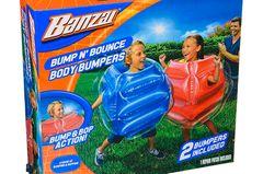 Wer genügend Platz in der Wohnung hat, kann seinen Kids diese coole Bodybumper kaufen. Einfach aufblasen und losbumpen. Ein riesiger Spaßfaktor und die Kids toben sich aus.