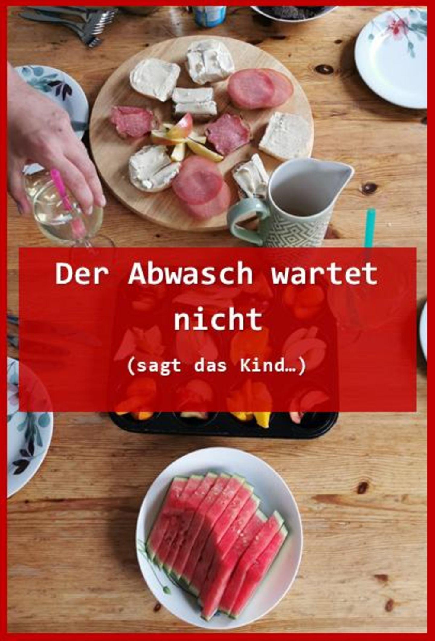 Blog Große Köpfe, Abwasch