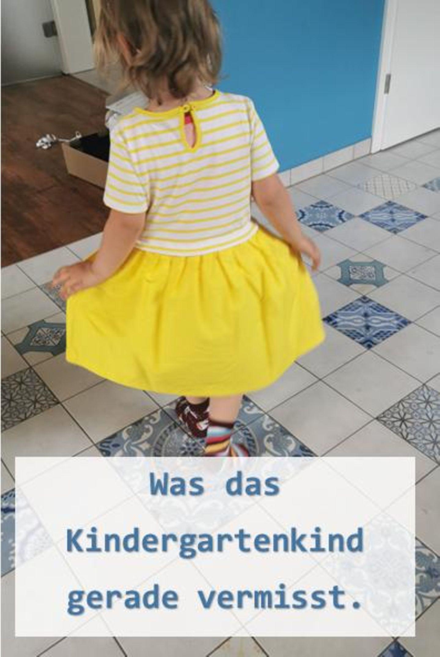 Blog Große Köpfe, Kindergartenkind