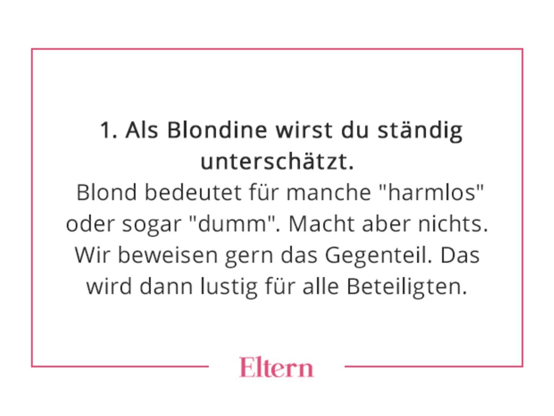 Beuty:  7 Dinge, die du nur kennst, wenn du blond bist