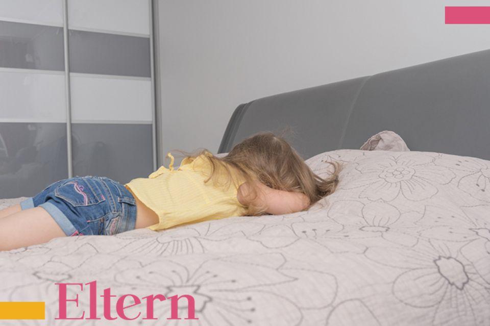 Blog Große Köpfe, Kindergartenstress