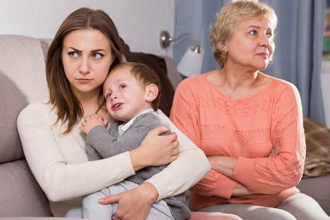 Großeltern Baby Streit