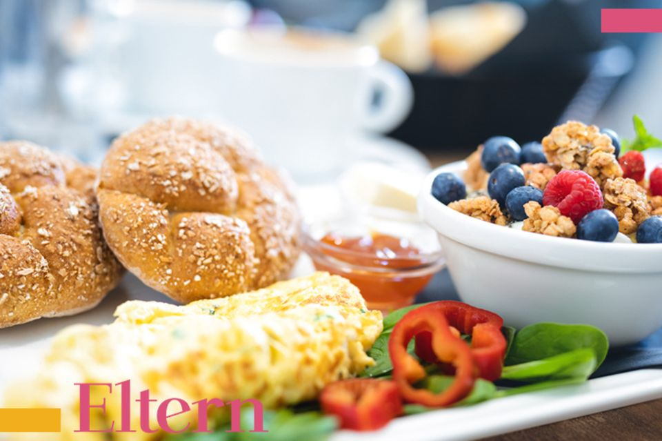 Blog Milchtropfen, Frühstück