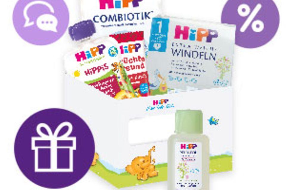 Geschenke & Vorteile: HiPP Produktproben und Geschenke