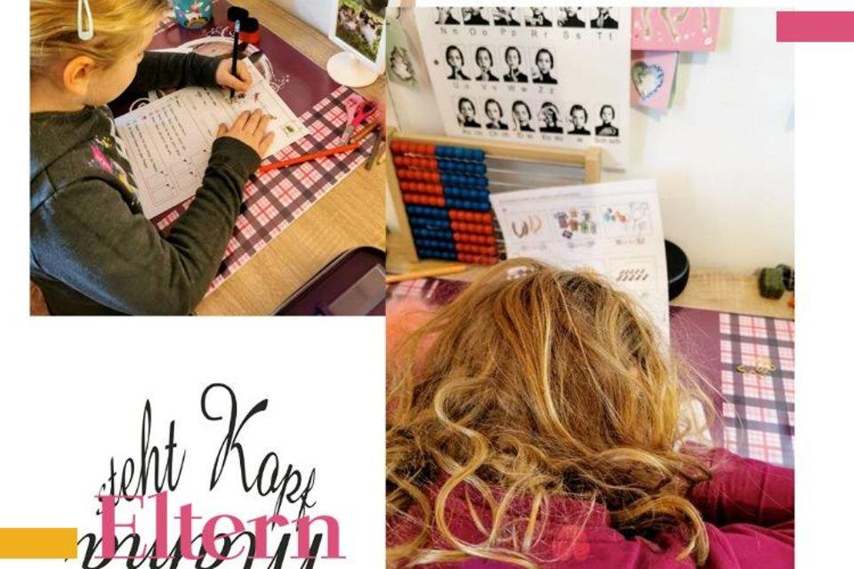 Mama steht Kopf: Wo ist die Motivation geblieben? Homeschooling Woche Eins vs Woche Drei