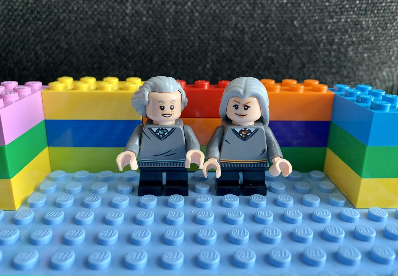 Oma und Opa aus LEGO