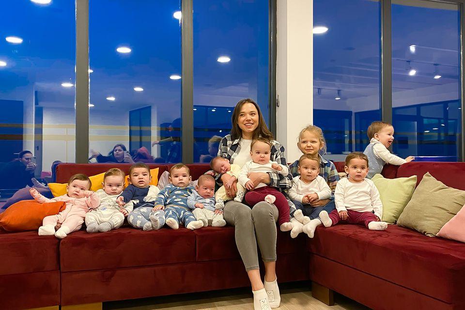 Christina Ozturk mit ihre Kindern