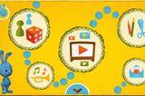 kikaninchen.de   Die aus dem Fernsehen vertrauten Figuren, allen voran das Kikaninchen, präsentieren im Internet Spiele, Filme, Lieder, Mitmach- und Bastelangebote. Die Navigation durch Symbole und Audiospur verstehen bereits die Jüngsten. Spannende und witzige Spiele gesellen sich zu Inhalten, die auf das Mitmachen und Lernen ausgerichtet sind. Ihre online gemalten Bilder können die Kinder ausdrucken, oder sie malen mit Papier, Stift und Pinsel und senden ihre Werke ein. Eltern erhalten wertvolle Informationen in Sachen Medienkompetenz und können die Verweildauer ihres Kindes auf der Plattform   bestimmen. Ein wunderschöner Online-Spielplatz für die Jüngsten.   online, Der Kinderkanal von ARD und ZDF, kostenlos