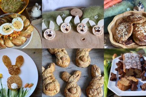 Milch & Mehr: Ich spiel' mit Essen! 5 Ideen für Kinder-Snacks zu Ostern