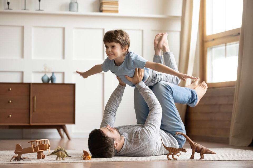 Test für Väter: Psychotest: Welcher Vatertyp bist du?