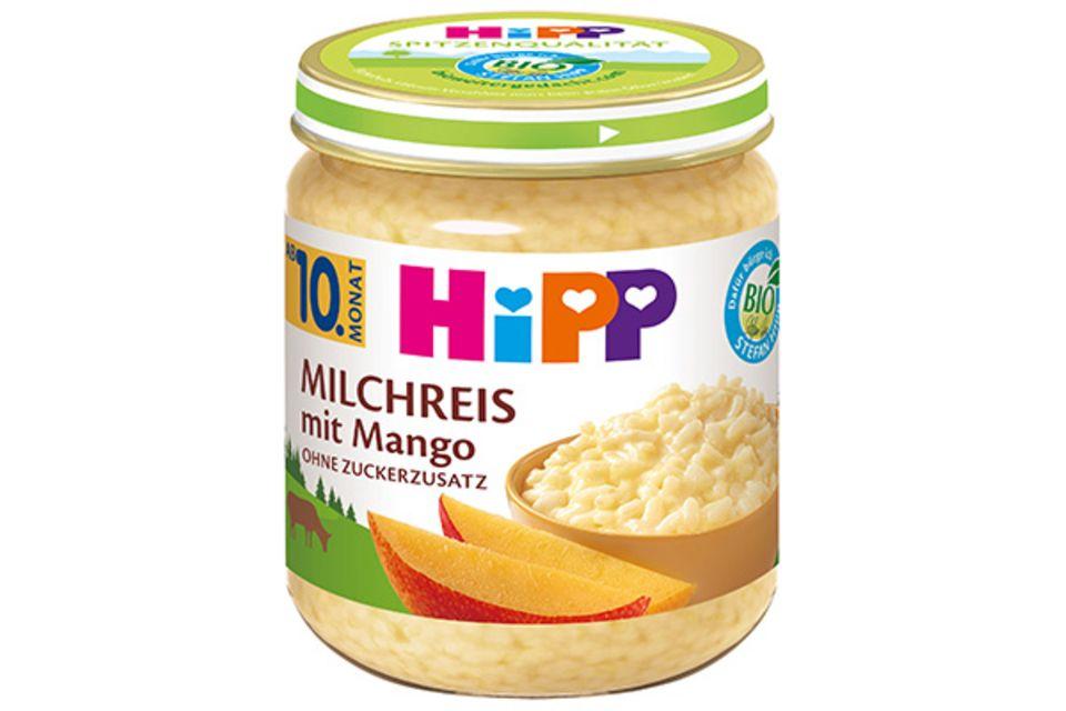 HIPP Milchreis mit Mango