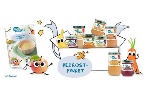 Gewinnspiel: Baby Freche Freunde ist da! Gewinne 1 von 3 Beikost-Paketen.