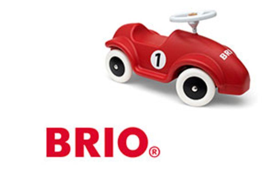 Gewinnspiel: Auf ins Abenteuer: BRIO Rutschrennauto & Natural Feuchttücher von HiPP