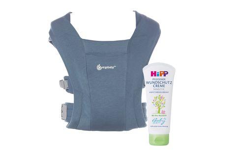 Gewinnspiel: Für rundum zufriedene Babys: HiPP Wundschutz & Babytrage von Ergobaby