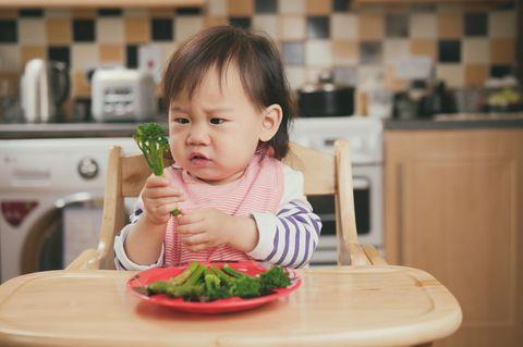 Kleindkind mag kein Gemüse