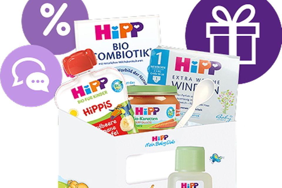 Vorteile für Eltern mit Kind: Für dich und dein Baby: Der HiPP Mein BabyClub!