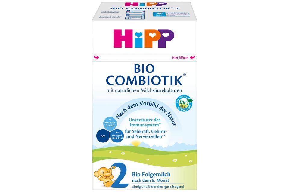 Gewinnspiel: Für ein gutes Bauchgefühl: HiPP BIO Folgemilch und Babytrage von Ergobaby