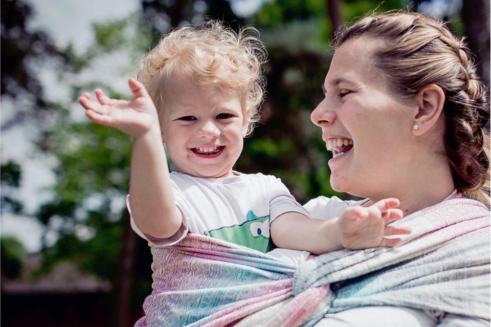 Gewinnspiel: Gewinne ein DIDYMOS-Babytragetuch Prima Aurora