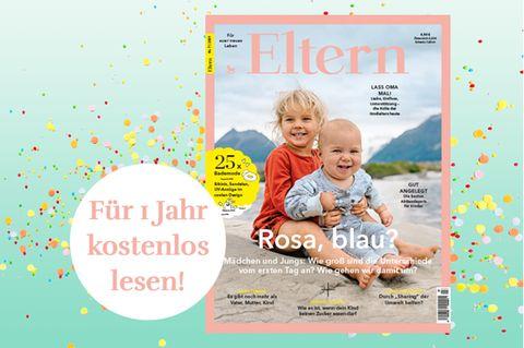Gewinnspiel: Gewinne ein Jahresabo des Magazins ELTERN im Wert von 58,80€