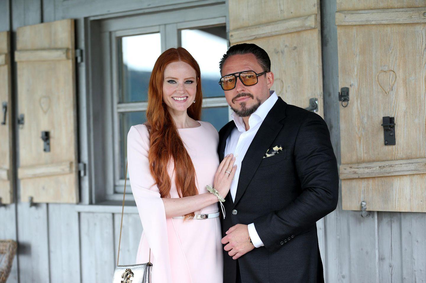 Barbara Meier mit Ehemann Klemens Hallmann
