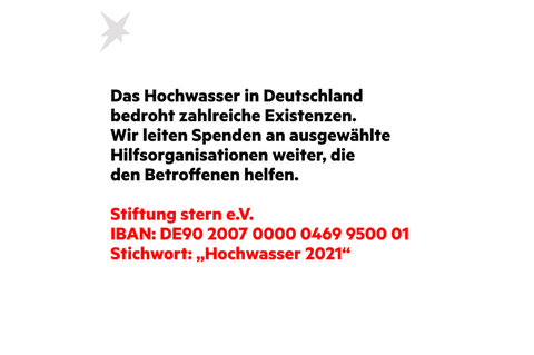 Spendenaufruf Hochwasser 2021