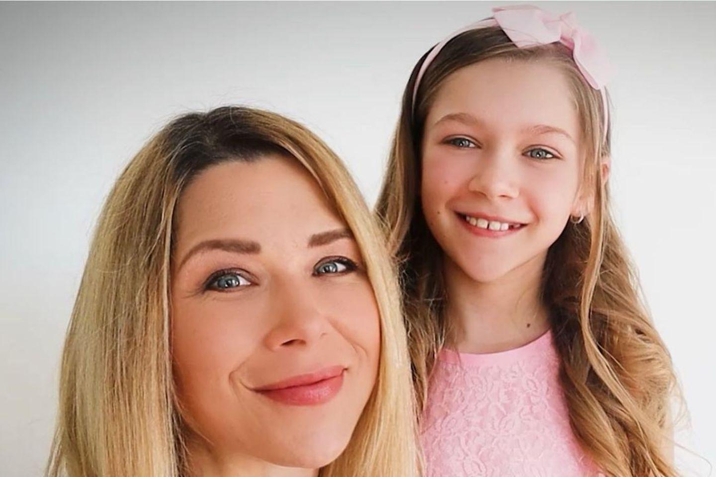 Tanja Scewzcenko mit Tochter Jona