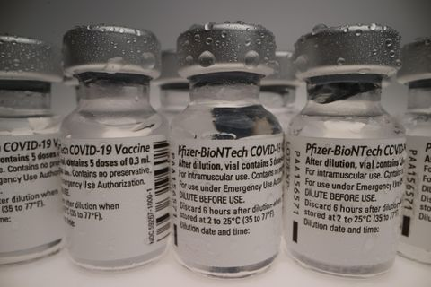 Dosen des Biontech-Pfizer mRNA-Impfstoffs Comirnaty®