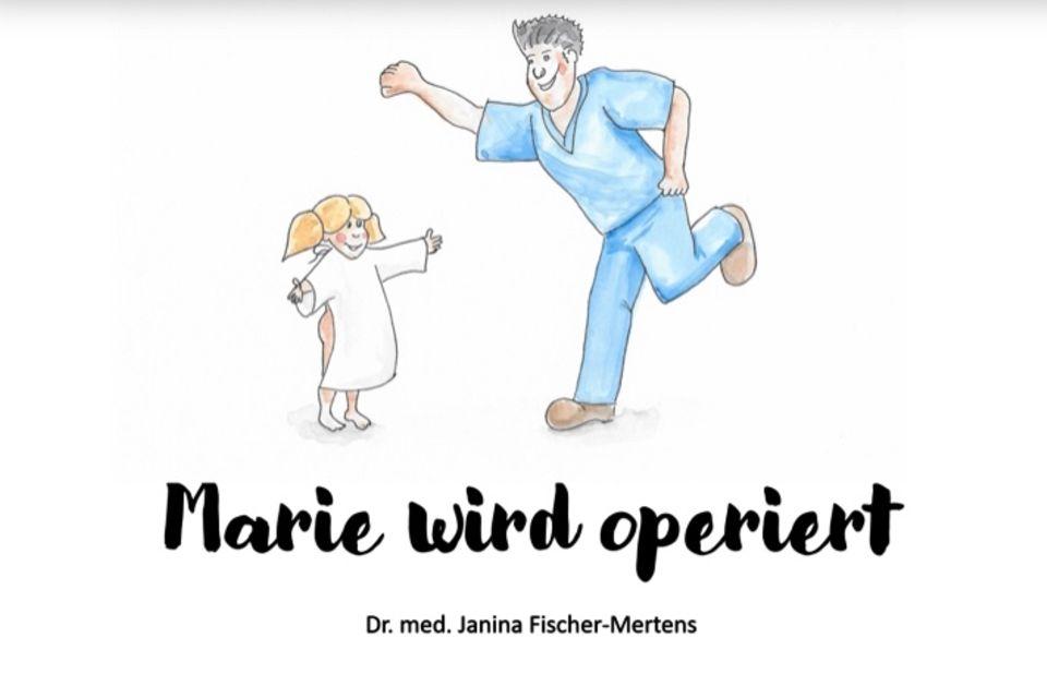 Marie wird operiert Buchcover