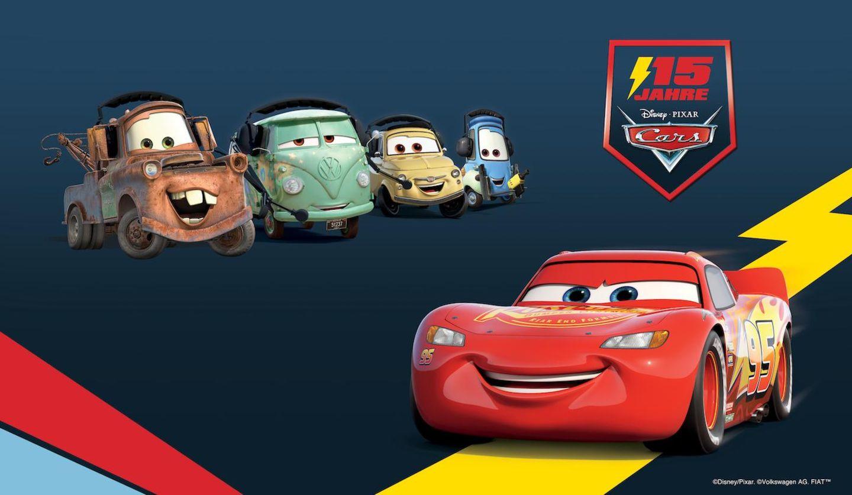 Gewinnspiel: Disney feiert das Jubiläum von Lightning McQueen & Co