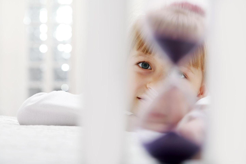 Zeitverständnis von Kindern: Kleines Mädchen